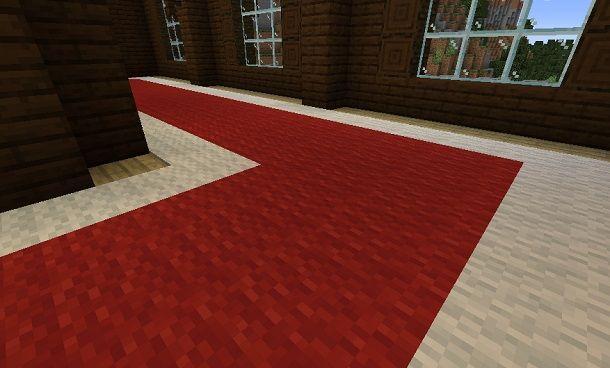 Tappeto Minecraft