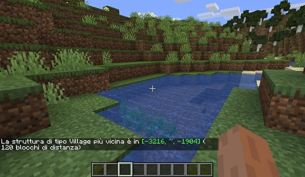 Trovare un villaggio in Minecraft con comandi