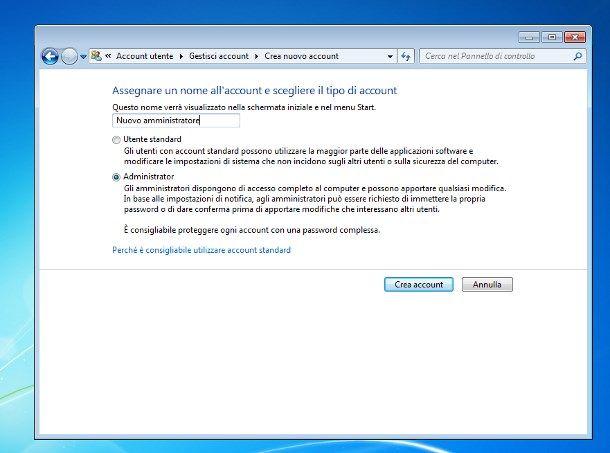 Cómo cambiar de administrador de PC con Windows 7