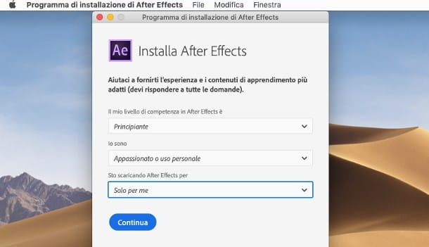 Come scaricare After Effects gratis su Mac