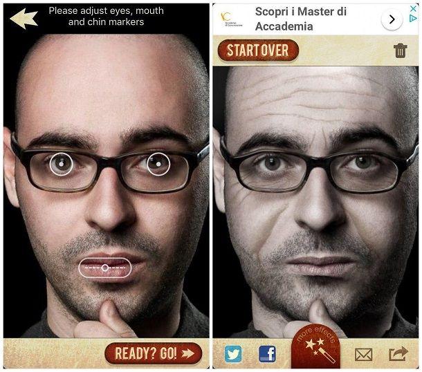 App per vedere come sarai da grande su iPhone