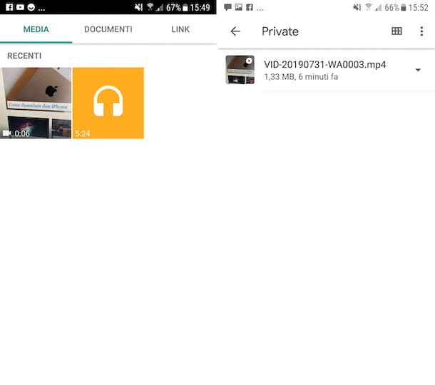 Video WhatsApp Android