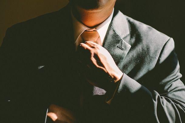 Foto che mostra un uomo d'affari