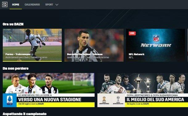 Vedere la Serie A su DAZN