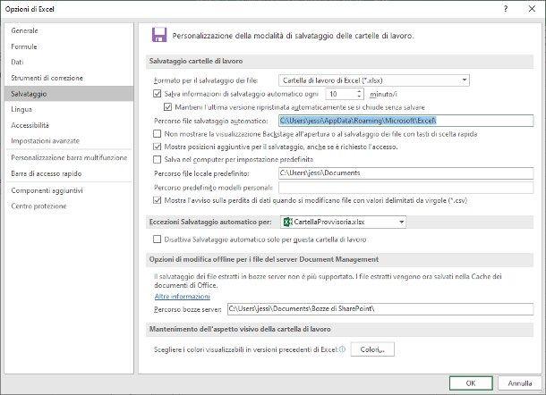 Come recuperare un file Excel non salvato su Windows