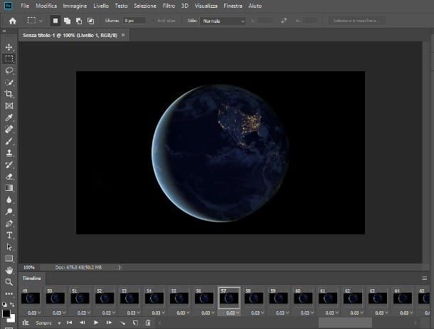 Come creare una GIF da un video con Photoshop
