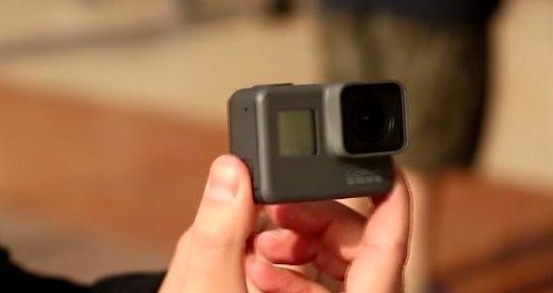 Spegnere GoPro HERO5