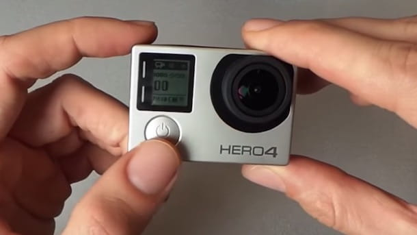 Come spegnere GoPro HERO4