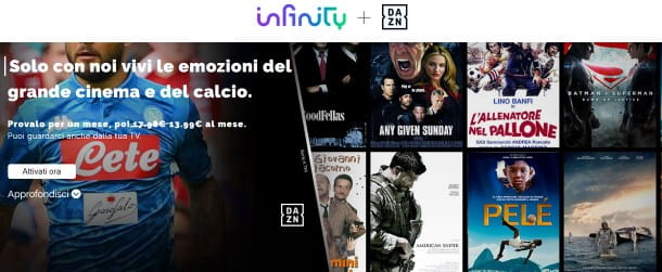 Infinity + DAZN