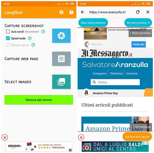 App per fare screenshot su Xiaomi