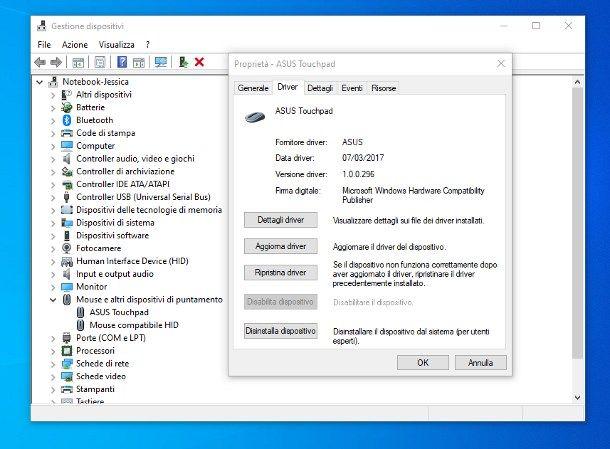 Come sbloccare la freccia del PC portatile