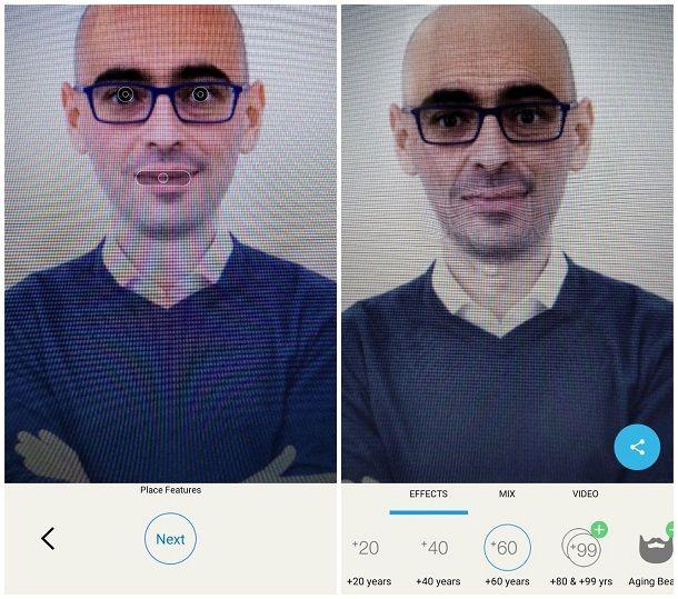 App per vedere come sarai da grande su Android
