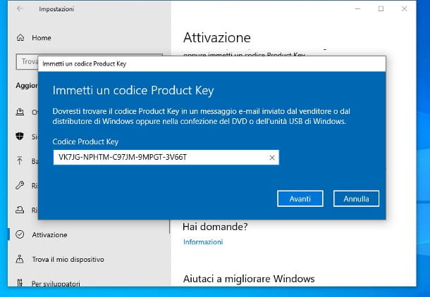 Come passare da Windows 10 Home a Pro gratis