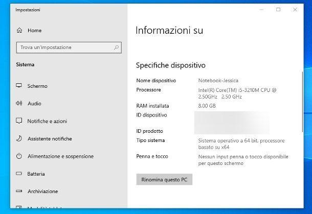 Come usare tutta la RAM Windows 10 32 bit