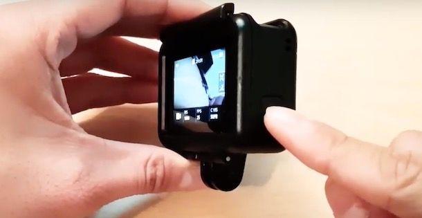 Spegnere GoPro