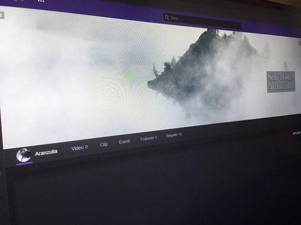 Banner Twitch modificato
