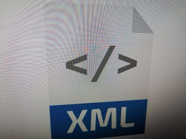 Come creare un file XML