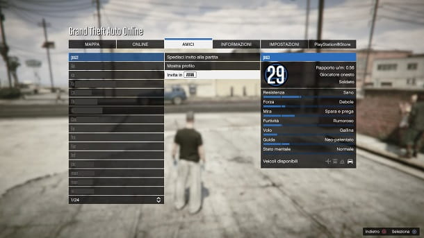 Come invitare crew GTA Online
