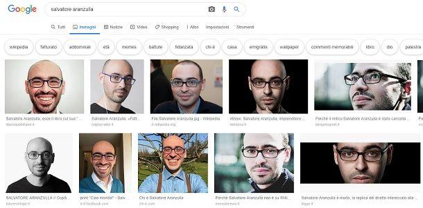 Come trovare una foto su Google