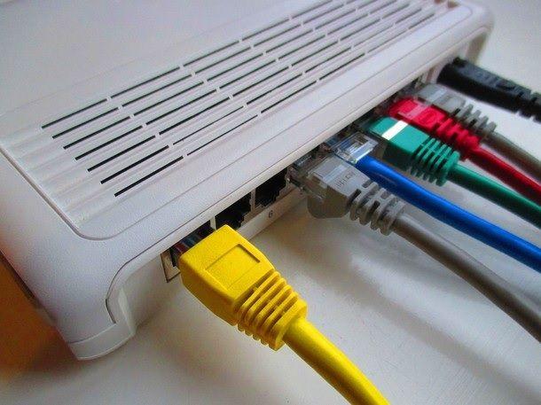 Connessione cablata PS4