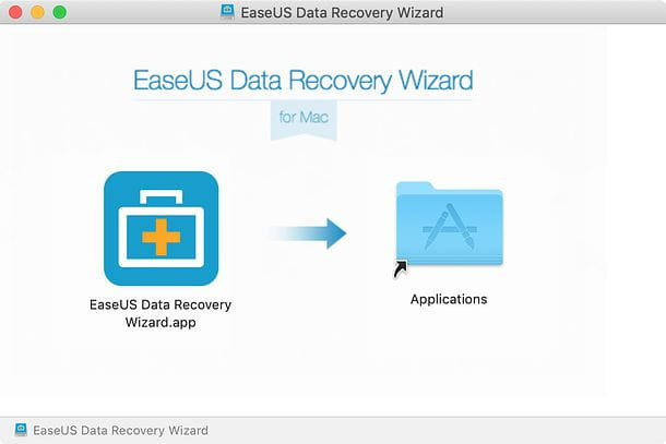Installazione EaseUS Data Recovery Wizard su Mac