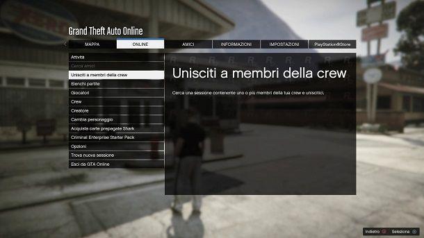 GTA Online Crew