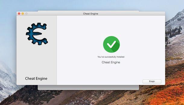 Installazione Cheat Engine macOS
