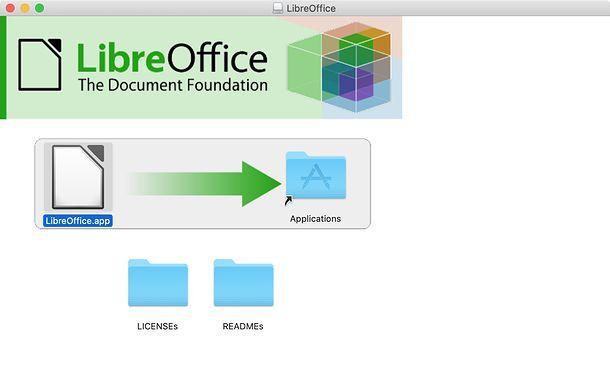 Installazione LibreOffice su Mac