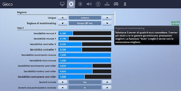 Regione matchmaking Fortnite PS4