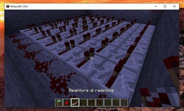 Ripetitore di redstone Minecraft
