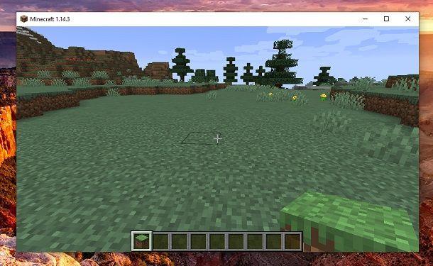 Trova lo spazio adatto Minecraft