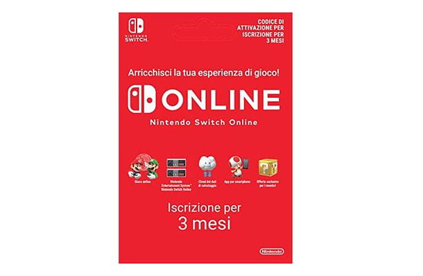 Scheda Switch Online
