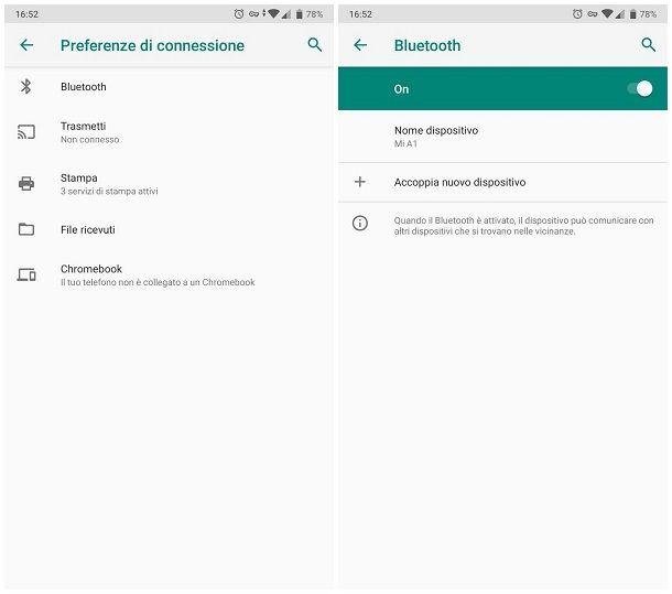 Come funzionano le cuffie Bluetooth Android
