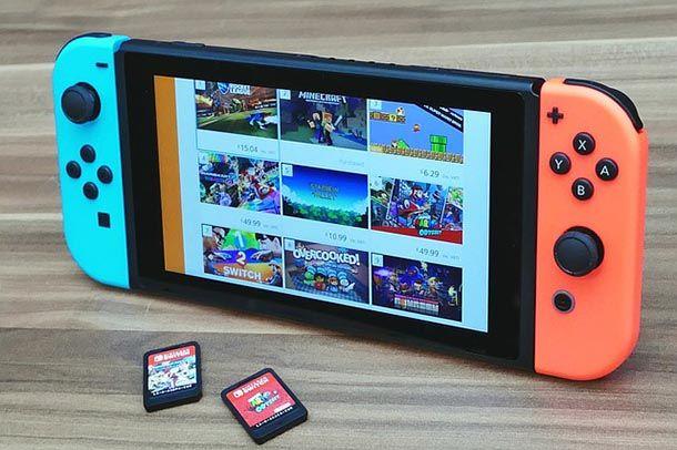Nintendo Switch - modalità portatile