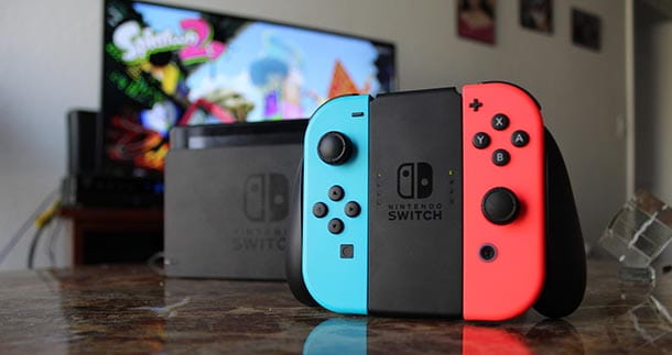 Nintendo Switch - modalità TV