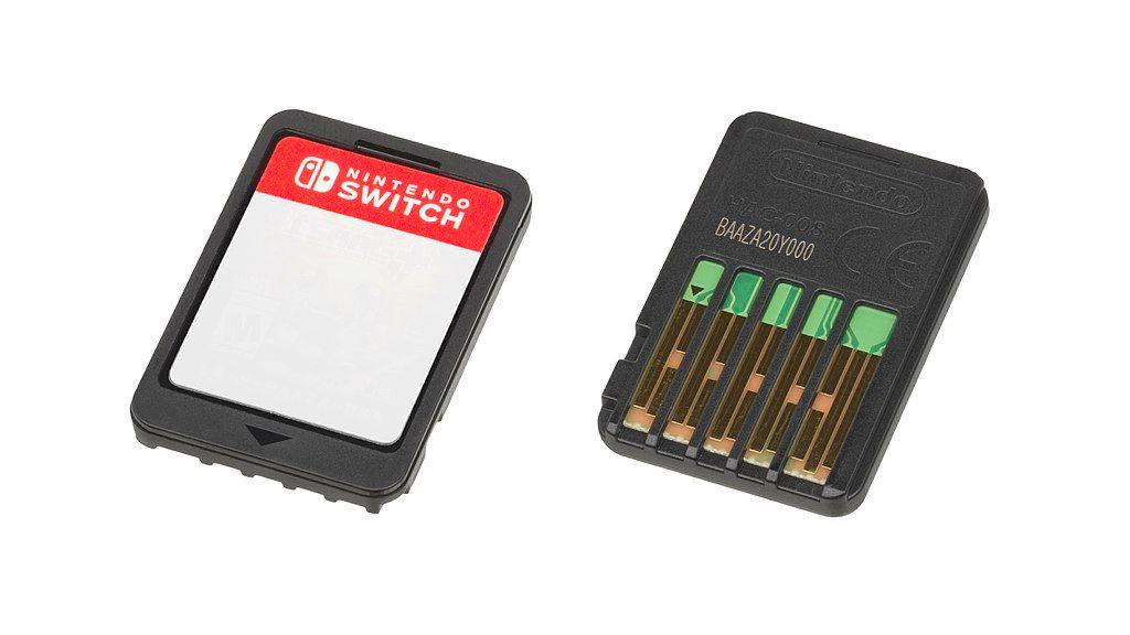 Nintendo Switch - scheda di gioco
