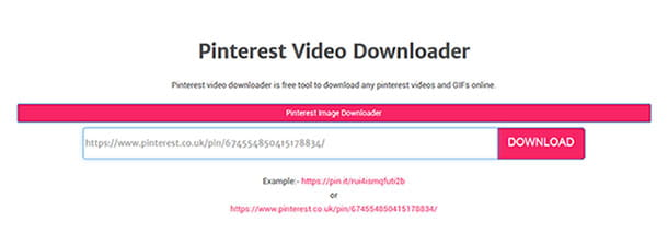 Expertsphp.com, Pinterest Video Downloader
