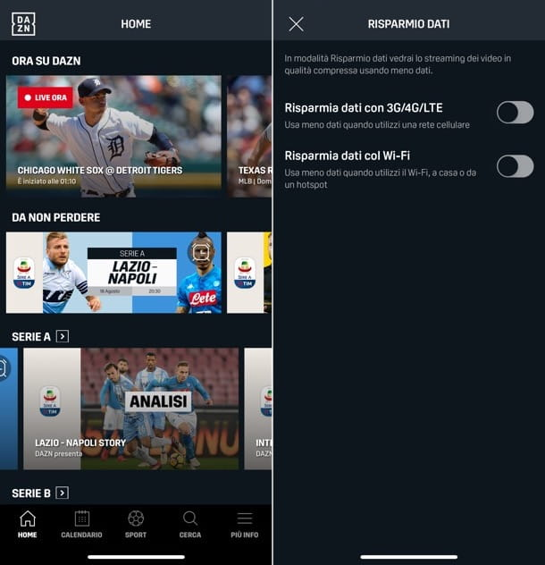 App per vedere partite di calcio gratis sul cellulare