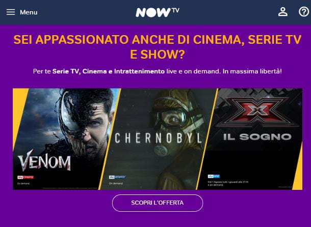 Come vedere Sky su Smart TV