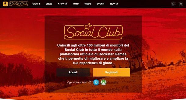GTA 5 Social Club