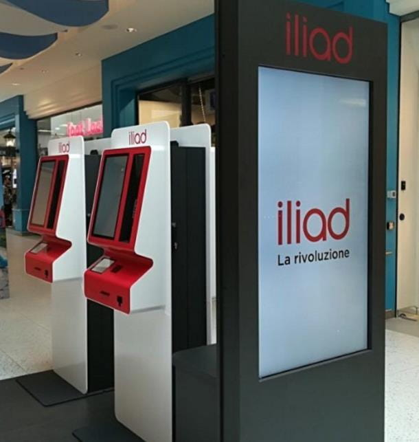 Ricarica Iliad con PayPal presso Simbox