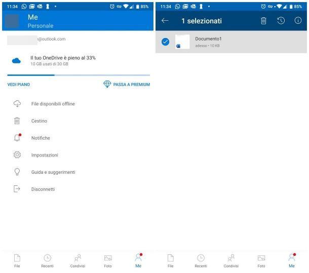 Recuperare video cancellati da WhatsApp Android tramite cloud