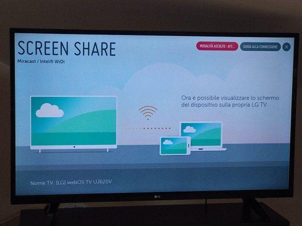 Come vedere un film dal telefono alla TV senza fili - Miracast