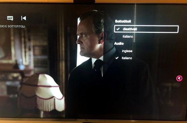 Come togliere i sottotitoli dalla TV Philips tramite menu di sistema