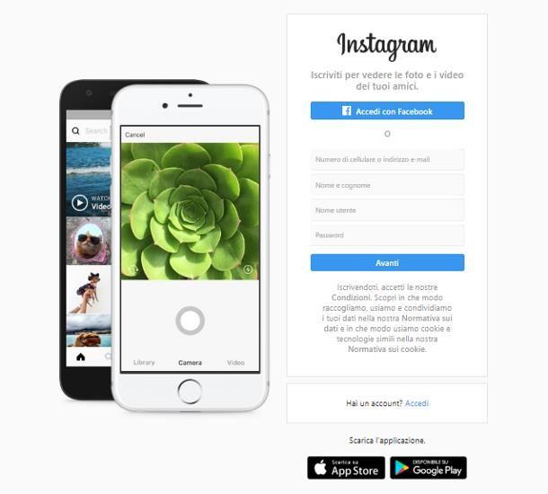 Come creare più account Instagram con la stessa email