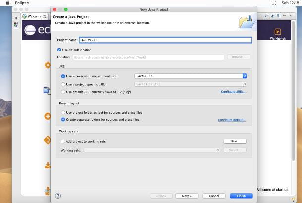 Come installare Eclipse su Mac