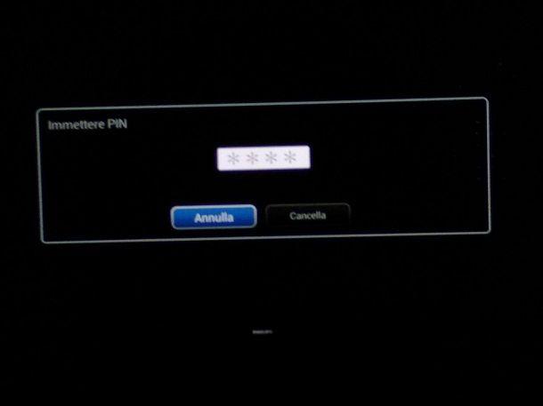 Sblocco risintonizzazione televisore Philips