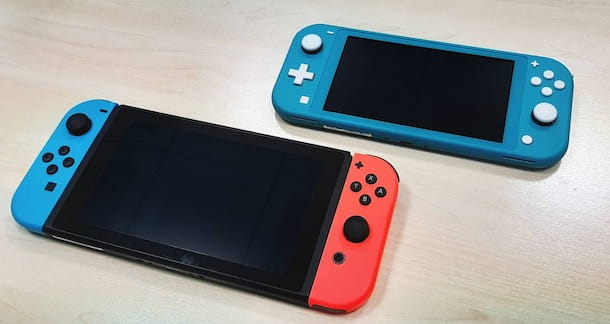 Nintendo Switch e Switch Lite
