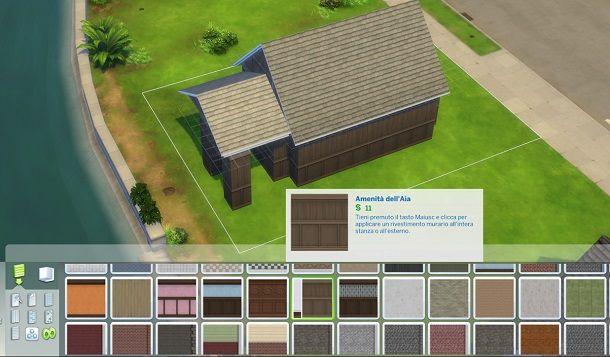 Amenita dell'Aia The Sims 4