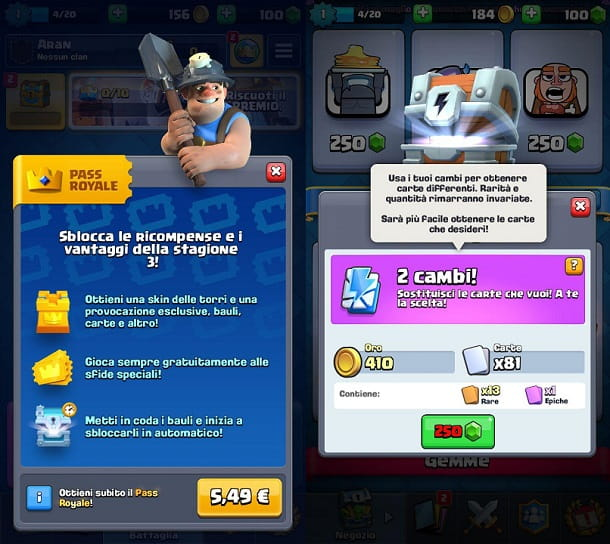 Bauli Super Magici Clash Royale